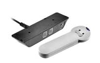 For furniture applications such asTV liftsa wireless control system like the DP1V desk panel and the HB20 handset is a