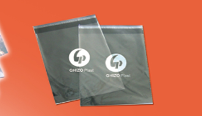 Fabrication d'emballages industriel secteur textile habillement, sachets avec rubans, adhésifs, sachets en polypropylène