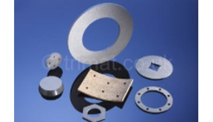 Trimat friction materials can be supplied as finished parts to suit the requirements of all brake and clutch application