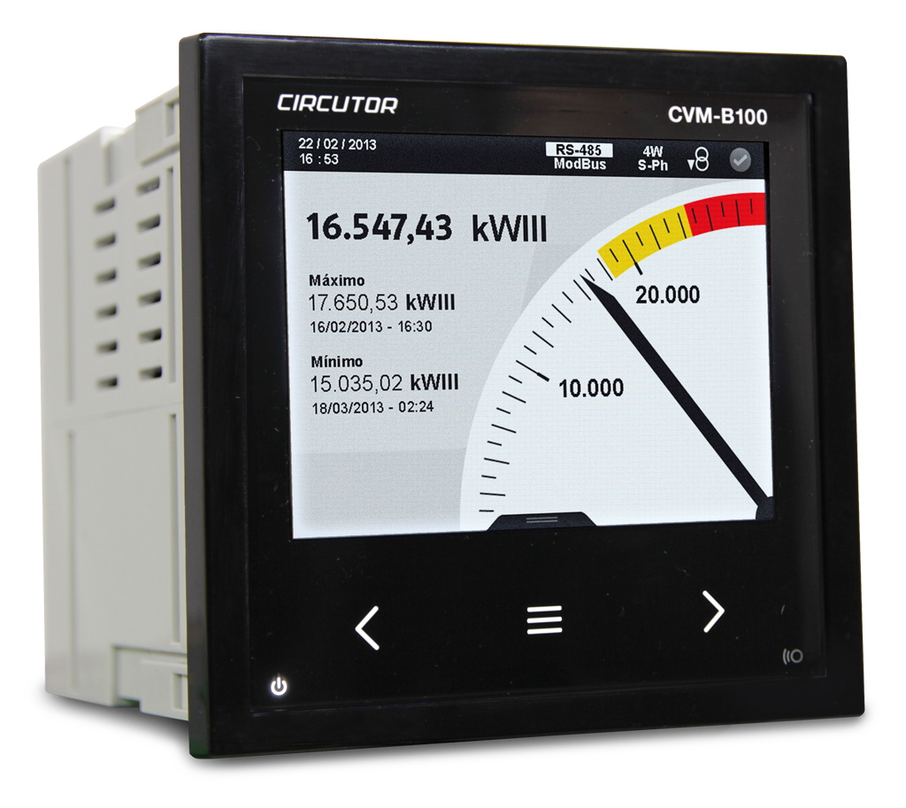 CVM-NET4-MC is a Power Analyzer used to measure balanced and unbalanced threephase networks&#x3b; specifically designed to ta