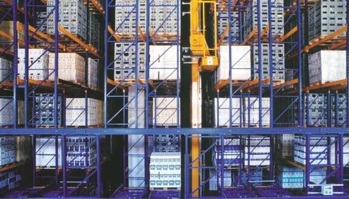 Automatische Lagersysteme / Hochregallager / Regalbediengeräte