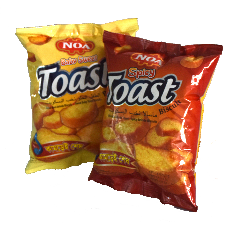 Noa Baby Sweet Toast & Spicy Toast