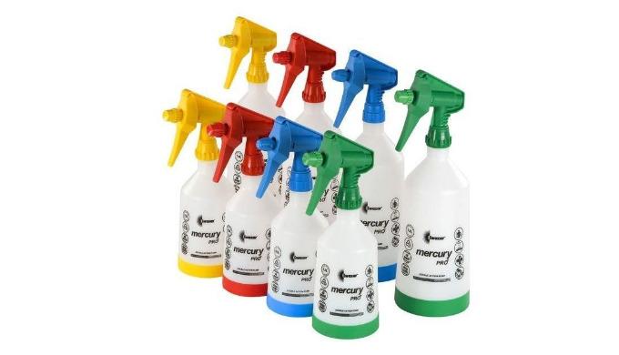Pulvérisateur considéré comme un haut de gamme • Pulvérisation double action sans interruption car il pompe en appuyant