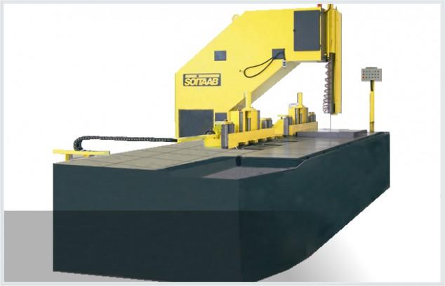 Soitaab SVL plate and block band saw machine