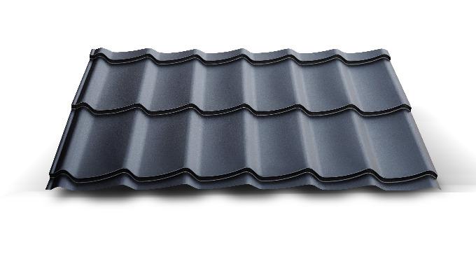 Blacha dachowa - Hornval H4. Dostępna tylko w wersji ciętej na wymiar.