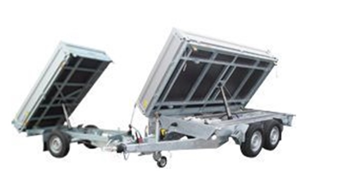One-way and three-way hydraulic tippers