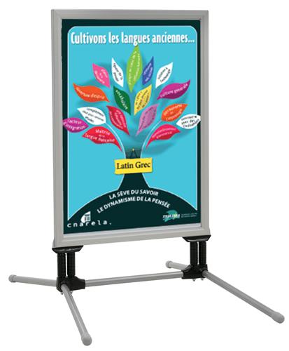 Pour valoriser toutes vos informations, affiches, notes de service, consignes, posters tant à l'intérieur qu'à l'extérie