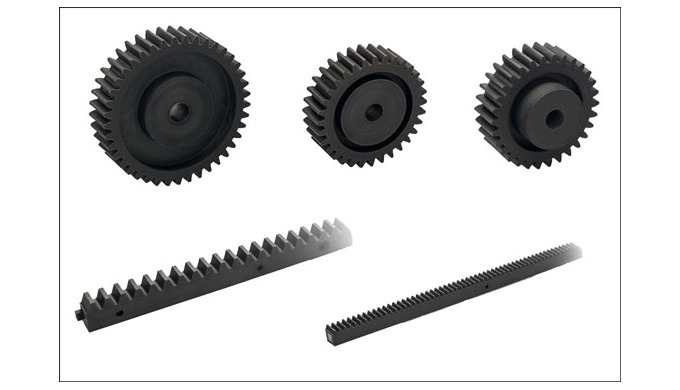Elesa ZCR and ZCL rack and spur gear transmission elements are ideal for applications where, in addition to mechanical r