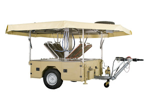 Mobile Kitchen Trailer - Army Field Kitchens and Military Cooking Stations