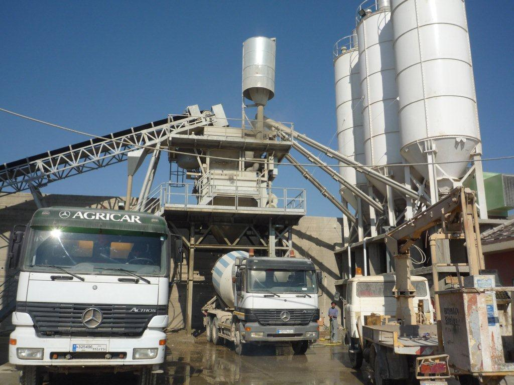 ISO Certified Ready Mix Concrete Factory in Lebanon