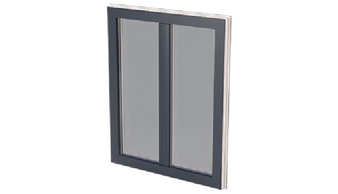 Si la fenêtre LUXline est innovante c'est parce que son ouvrant ne parait être caché que par un effet trompe l'œil : Le