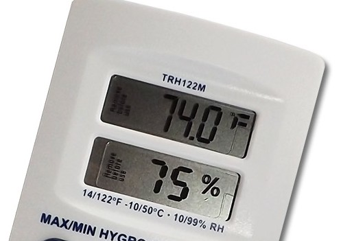 Fridge Freezer Thermometer with Digital Display Screen