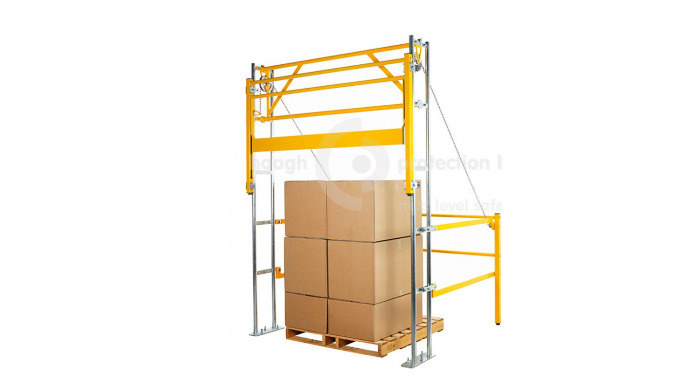 VARIOGATE® 30HI Safety pallet gate system Since 1981 Haagh Protection offers various solutions for securing mezzanine fl