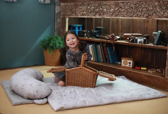 Antibakterielle Bettwäsche für Kinder  • Antiallergisches Gewebe • Tragbar und einfach zu tragen • Exkin Air mit niedri