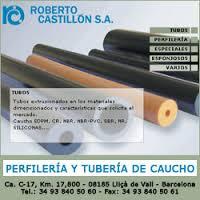 PERFILERIA Y TUBERÍA DE CAUCHO