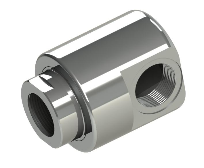 """Leichte Ausführung mit Gewindeausflüsse, Nennweiten G1/4"""" - G2"""" Produkteigenschaften: Stahl (42CrMo4) oder Edelstahl (1."""