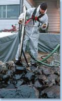 Ölskimmer von 3-180 m³/h Überlaufskimmer Bürstenskimmer Ölbekämpfungssysteme für Schiffe Industrie-Ölskimmer Antriebsagg