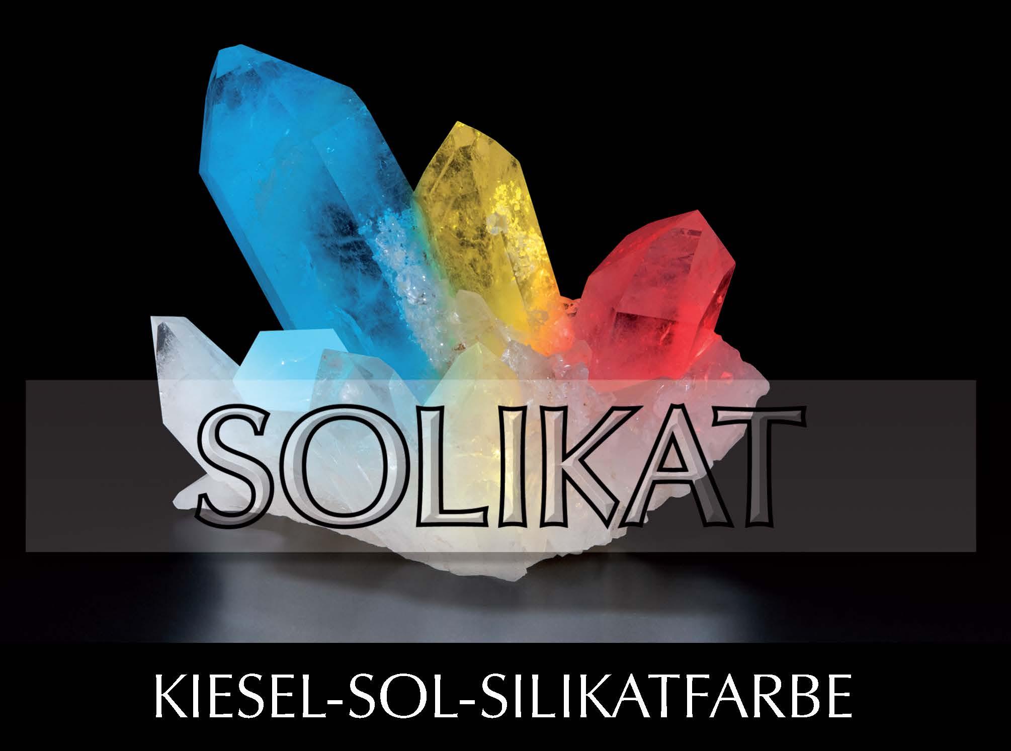 SOLIKAT  -  vorverkieselte Kiesel-Sol-Silikatfarbe