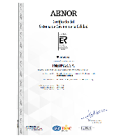 Certificado del Sistema de Gestión de la Calidad ISO 9001:2015