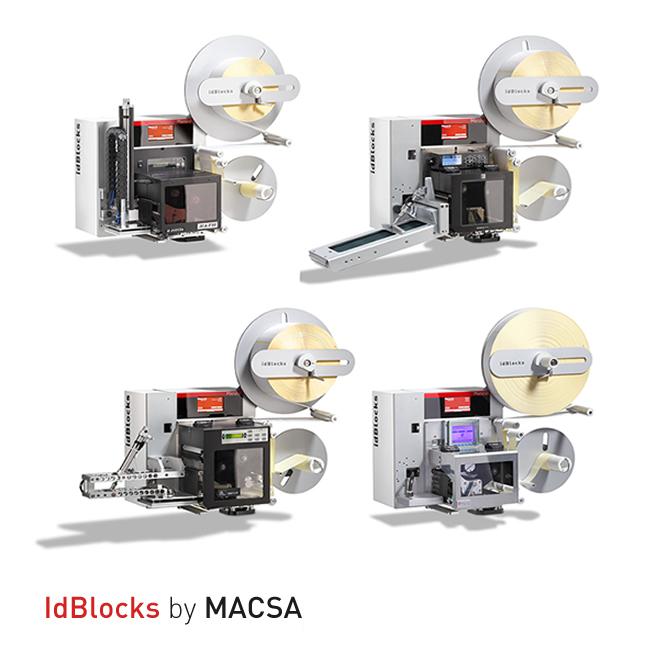 Impresoras aplicadoras para altas producciones: idBlocks