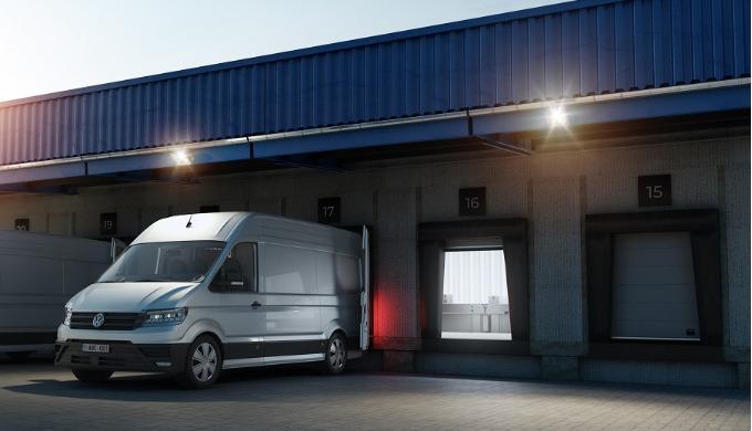 Bequemes und effizientes Verladen mit der Kissentorabdichtung für Transporter