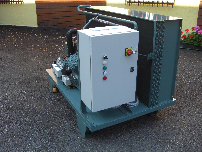 Unità condensante per bassa temperatura con compressore Bitzer