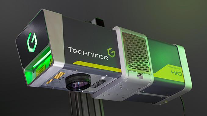 Los equipos de marcaje láser DPSS están dotados de la potencia máxima más elevada de la gama&#x3b; realiza marcajes con contr