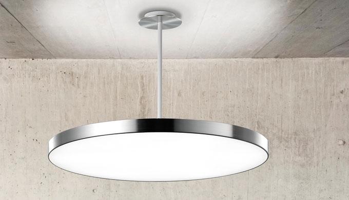 Dank modernster LED-Technologie taucht ViVAA Eingangs- oder Aufenthaltsbereiche, Flure sowie Büroräume in ein angenehm h