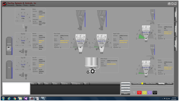 Sterling Systems & Controls Automated and Semi-Automated Batching Systems will improve the efficiency of your powder and