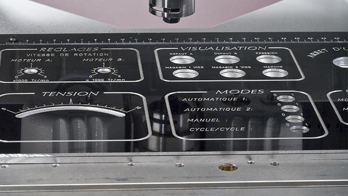 Gravograph también dispone de un gran abanico de materiales metálicos, especialmente aptos para ser grabados con diamant