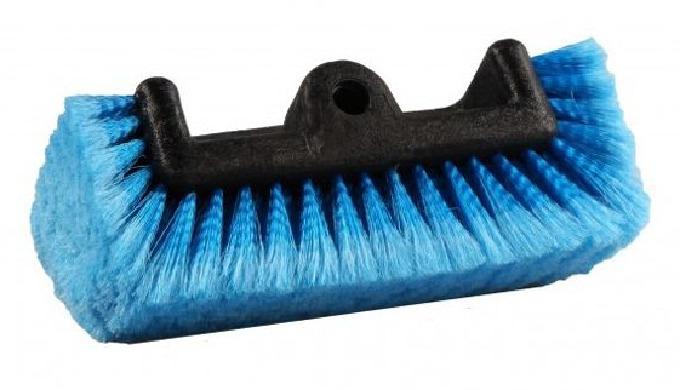 • Brosses de lavage de haute qualité résistantes aux produits de nettoyage • Qualité du poil de haute densité • Fleurage