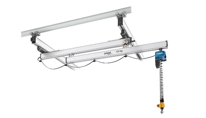 Demag KBK Extending Cranes for Optimum Use of Workspace