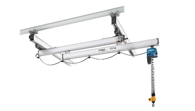 Demag KBK Extending Cranes for Optimum Use of Workspace