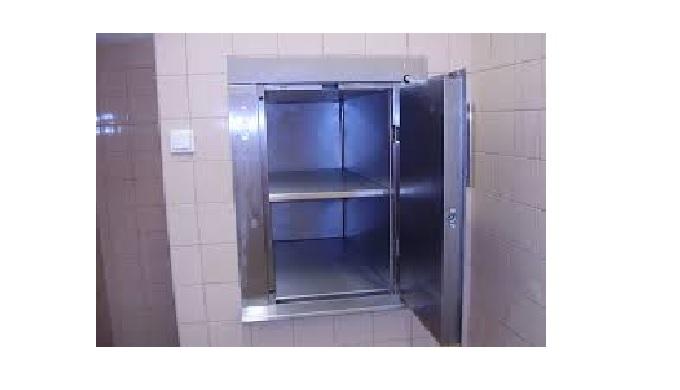 Jídelní výtahy pro nemocnice, školy, hotely, prádelny