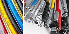 CEJNs slang för högtryckshydraulik är tillverkad i polymer och är förstärkt med spiralstålwire som ger ett ultrahögt arb