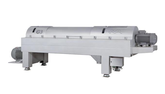 Le décanteur révolutionnaire ALDEC G3 est le résultat d'une révision des paramètres de base de la conception et des perf