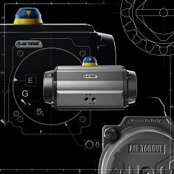 La nouvelle génération des actionneurs pneumatiques pignon crémaillère en aluminium et en acier inoxydable a été conçue,