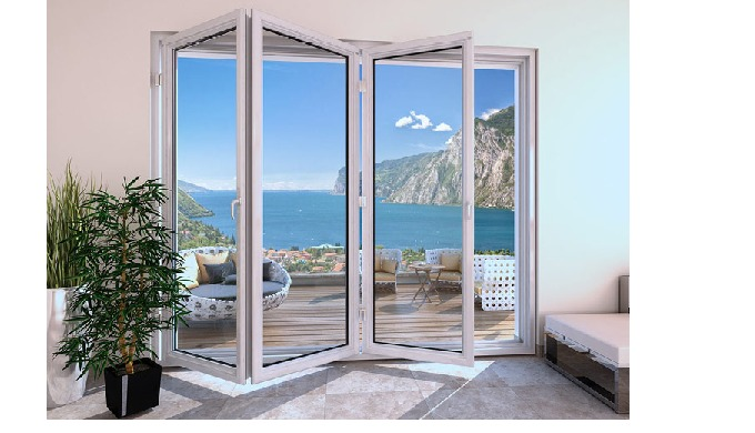 Slide and Fold Systems are a popular choice for new constructions, this door keeps rooms open and flexible to the outdoo