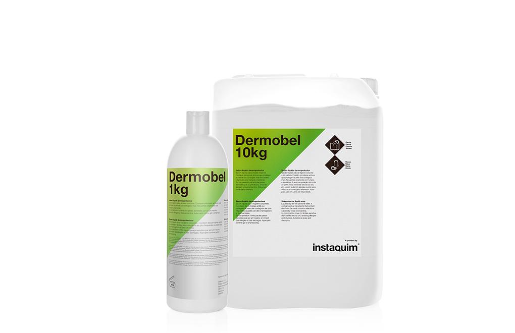 Dermobel, jabón líquido dermoprotector.