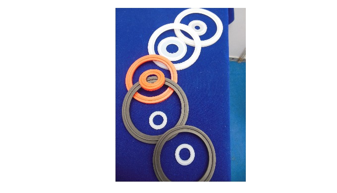 "We are leading manufacturer of Silicone Rubber TC Gasket with collar without collar from size 1/2"" to 8"". Our Silicone R"
