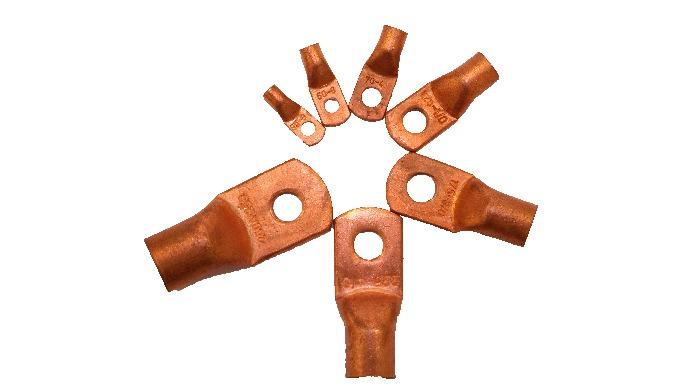Copper Tubular Lugs