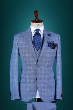 Men's suit with Vest