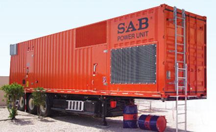 SAB Standard Aggregatebau: Kompetente und innovative Energieversorgung weltweit Fertigung von stationären und mobilen Si