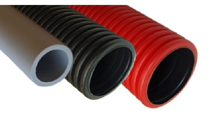 includes cable protectors, tubes for protecting electrical cables.