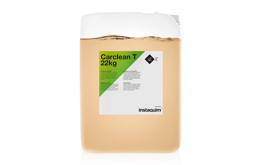 Carclean T, detergente para suelos.