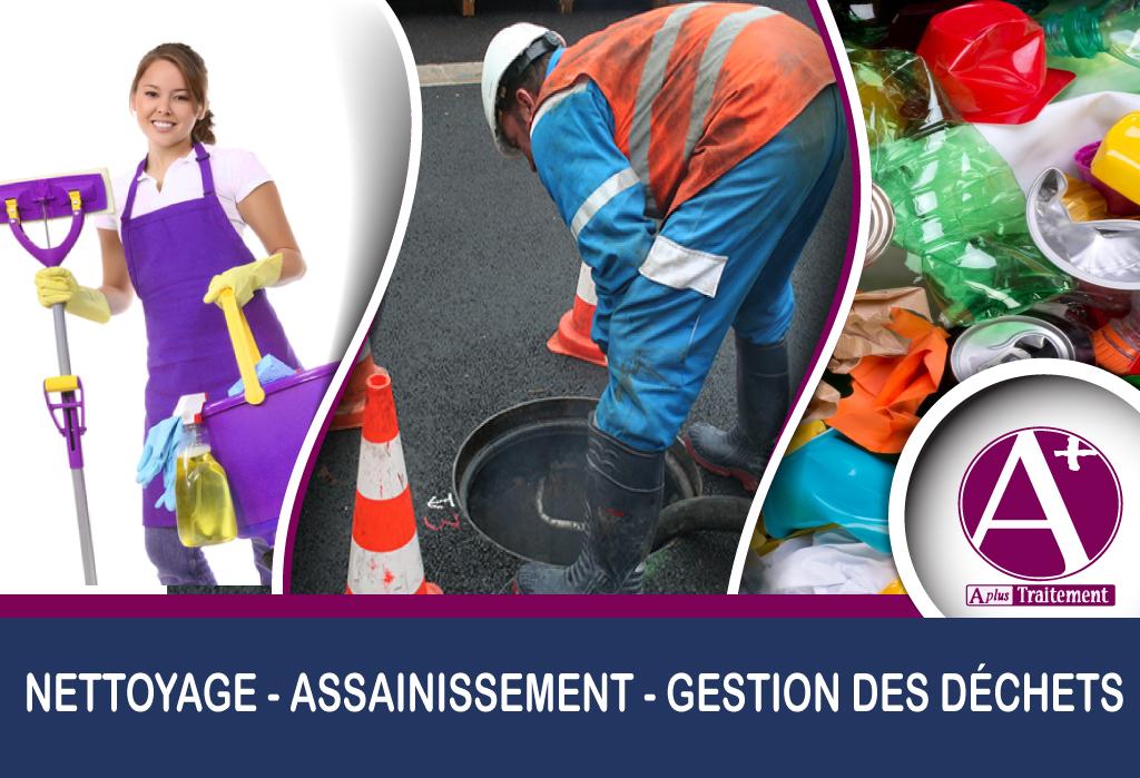 - Nettoyage industriel, de bureaux, immobilier, intérieur, extérieur, copropriété et travauxassociés… - Mai