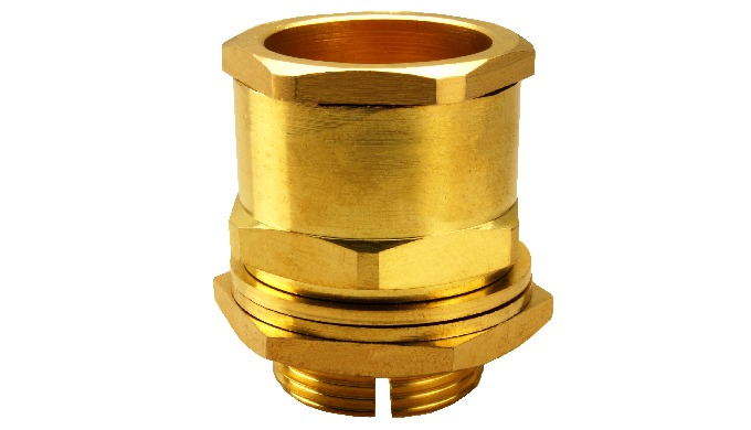 CXT Cable Gland is a easiest to install due to simple design and suitable for retaining wire braid for electric continui