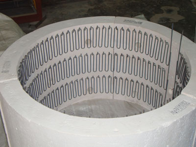 Free Radiating Cylindrical Segment