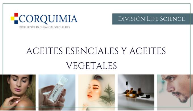 Aceites esenciales y Aceites vegetales, con certificaciones  orgánicas, ecológicas y más