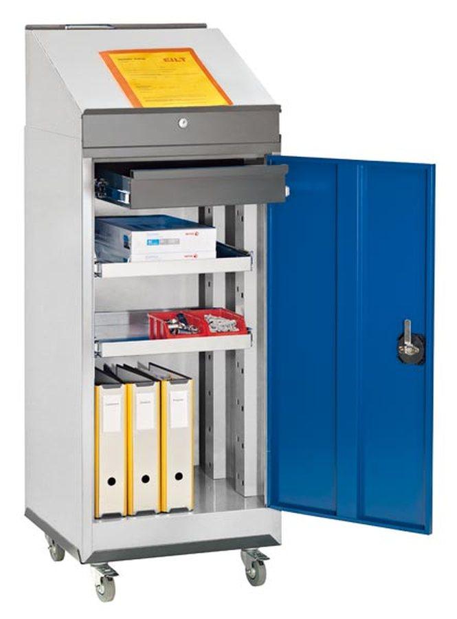 Für Lager, Werkstatt und Betrieb Unterschiedlichste Materialien auf engstem Raum Mit zusätzlichen Schubladen und Fachböd